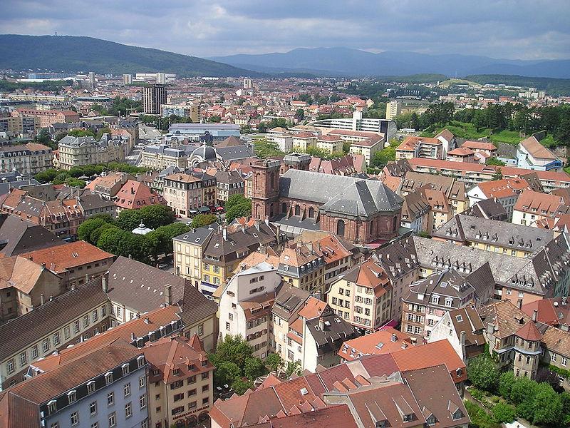 Belfort frankreich kathedrale st christophe
